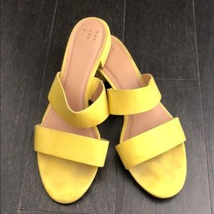A NEW DAY Target Kyrielle Yellow Sandals